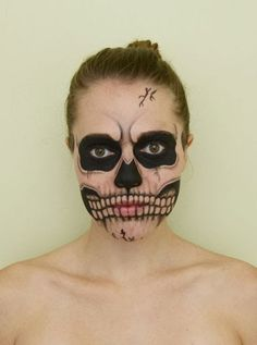 HALLOWEEN: IDEE MAKE UP  idea halloween make up www.theshadeoffashion.blogspot.it