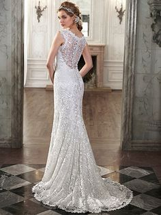 Ellis Wedding Dress by Maggie Sottero | back