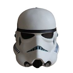 XCOSER Stromtrooper Mask Creepy Star Wars Cosplay Prop for SW Movie Cosplay Latex Mask Halloween Par @ niftywarehouse.com #NiftyWarehouse #Halloween #Scary #Fun #Ideas