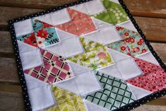 Chevron Doll Quilt Tutorial