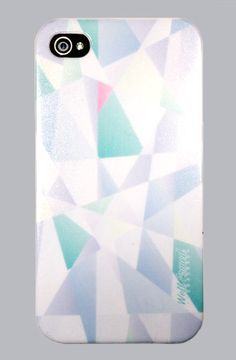 DIAMOND CUT Print iPhone 4 or 4s Snap Case by WLRMD #wellarmed
