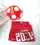 Coca-Cola 2014 FIFA WORLD CUP Brasil Red T-Shirt XL and Official Size Soccer Ball   Tshirt is in sealed bag Ball has never been inflated  Coca-Cola 2014 FIFA WORLD CUP Brasil Red T-Shirt XL and Official Size Soccer Ball  List Price: $ 29.57 Price:     Coke Enjoy Refreshing Coca-Cola Logo Vintage...