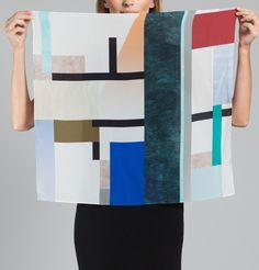 Foulard Rohmer Multicolore Milleneufcentquatrevingtquatre en vente chez L'Exception