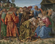 NOTE: Communication between Jesus and Magus and between Joseph and Magus -- The Adoration of theMagi