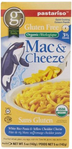 Pastariso Organic Quick-Cooking White Rice Mac and Yellow Cheeze, Orca, 5-Ounce - http://goodvibeorganics.com/pastariso-organic-quick-cooking-white-rice-mac-and-yellow-cheeze-orca-5-ounce/