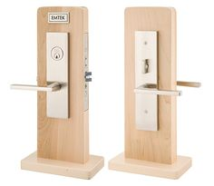 Mormont Mortise | Contemporary Lock Sets | Mortise Knob by Knob / Lever by Lever Entry Sets | Emtek Products, Inc.
