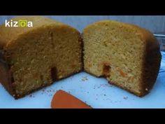 Receta fácil de un bizcocho de calabaza hecho en la panificadora, rápido y muy rico. También está la receta para hacerlo en el horno Cornbread, Banana Bread, Ethnic Recipes, Desserts, Food, Youtube, Home, Pumpkin Pound Cake, Sponge Cake