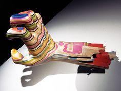 KICKASS: Haroshi sculptures-made-out-of-skateboards