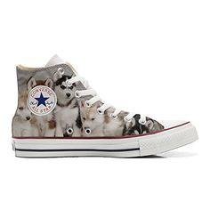 Scarpe Converse All Star personalizzate (Prodotto Artigianale) Cuccioli Husk - TG38 - http://on-line-kaufen.de/make-your-shoes/38-eu-converse-all-star-personalisierte-schuhe-25