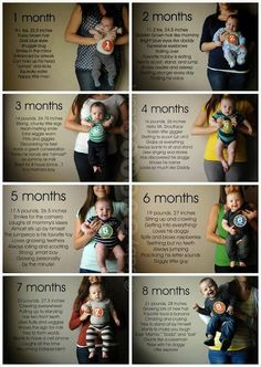 I Heart Pears: 15 Awesome Ideas for Monthly Baby Photos