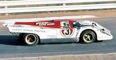Kyalami 9 Hr - David Piper, Lucky Strike Racing - Richard Attwood, Dave Charlton - DNF Sports Car Racing, Sport Cars, Race Cars, Motor Sport, Auto Racing, Porsche, Le Mans, Vintage Cars, Vintage Auto