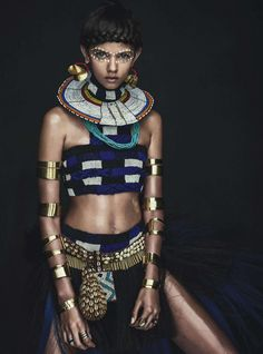 "How Did This ""Tribal"" Vogue Australia April 2014 Editorial Get a Racism Pass?"