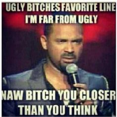 Mike Epps does it again lol Funny As Hell, Haha Funny, Hilarious, Funny Shit, Funny Stuff, Funny Things, Funny Relatable Memes, Funny Jokes, Funny Mems