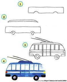 Kolay Araba Çizimleri ,  #kolayçizimler #kolayresimçizimi , Aşağıda kolay araba çizimleri, araç çizimleri göreceksiniz, okul öncesi etkinlikleri için çocuklarla oldukça faydalı olabilecek bir etkinl...