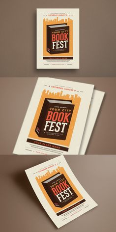 Print Templates, Psd Templates, Flyer Template, Poster Templates, Book Festival, Festival Posters, Flyer Free, Find Fonts, Place Names
