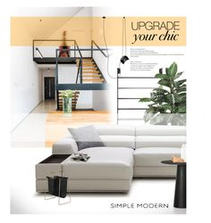 """Step it up!"" by laste-co ❤ liked on Polyvore featuring interior, interiors, interior design, home, home decor, interior decorating, GO Home Ltd., Nearly Natural, Moooi and Flos"