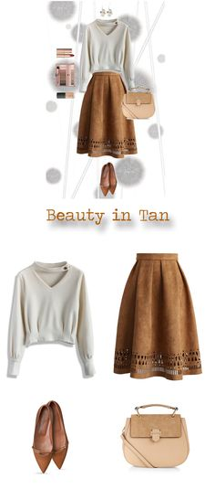 Tan Beauty- Winter Skirt Collection
