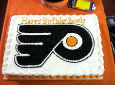 flyers cake