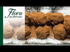 Τρουφάκια με κακάο | Flora με βούτυρο - YouTube Flora, Cookies, Chocolate, Desserts, Youtube, Crack Crackers, Tailgate Desserts, Biscuits, Schokolade