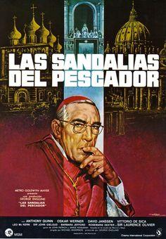 Las sandalias del pescador (1968) EEUU. Dir: Michael Anderson. Drama. Relixión. Guerra fría - DVD CINE 1284