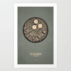The Big Lebowski Art Print by Jerod Gibson - $20.00