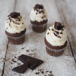 RECEPT+|+ČOKOLÁDOVÉ+CUPCAKES Chocolate Muffins, Love Chocolate, Cheesecake, Sweet Bar, Mini Cupcakes, Food And Drink, Minis, Sweets, Healthy Recipes