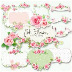 Pink roses journal spots