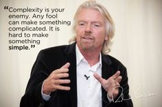 Richard Branson - good quote for technical writers