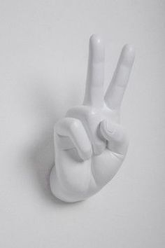 Peace Sign Wall Hook