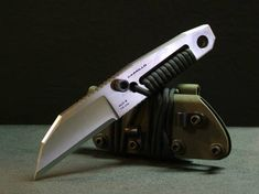 Mini Mag fixed blade by Carrillo Knives