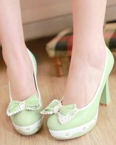 Fresh Bowknot High Heels