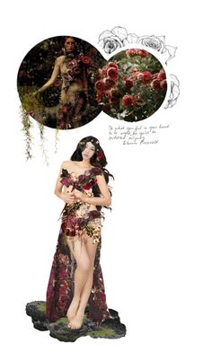 """{8/13} Persephone"" by remus-lupin ❤ liked on Polyvore featuring art"