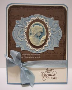 What a gorgeous Caring Cameo card from Holly!!