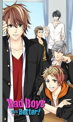 This one is fun! They're high school boys which makes me feel a little pervy, but it has a kinda anime vibe to it. My boy is in the back with the book, Rei. He's a good one...not so innocent.  I hope they have more coming!  Bad Boys Do It Better