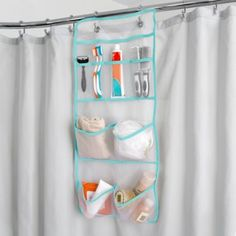 Buy Mesh Hang Up Shower Caddy In White/Silver From At Bed Bath U0026 Beyond.  The Mesh Hang Up Shower Caddy Stylishly Organizes Your Shower Essentials  Like Soap ...