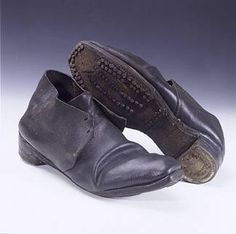 Men's shoes, 1850. They look like.. shoes.