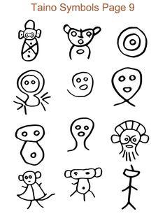 62 Mejores Imágenes De Símbolos Tainos Dibujos Islands Taino