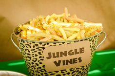 Safari / Jungle Birthday Party Ideas | Photo 3 of 48