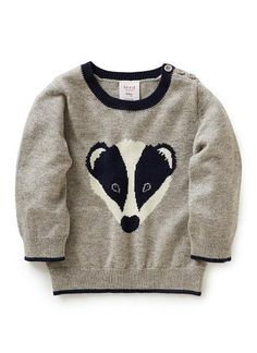 Baby Clothes Knitwear & Jumpers | Bb Badger Jumper | Seed Heritage