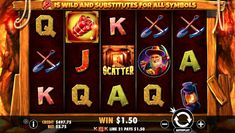 Gold Rush instant free pokies have players digging for gold over 25 paylines with scatter bonuses.  PLay today with instant free credits on mobile and PC.