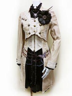 steampunk white rabbit costume - Google Search
