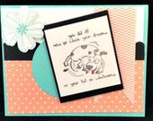 Handmade You Did It Card using Stampin' Up! products