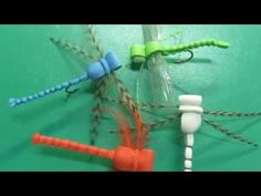 Fly Tying The Foam Dragon-fly - YouTube