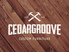 I like the type for this logo. Also could be cool to do it on wood but cut logs like the bar at the Doug Fir