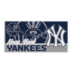 New York Yankees MLB Fiber Reactive Beach Towel (28in x 58in)