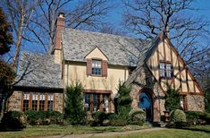 old english stucco home cape cod cottage - Google Search