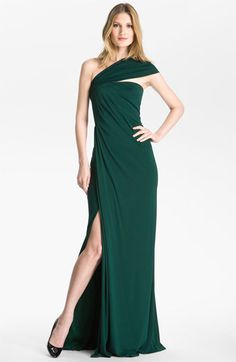 St. John Collection Strapless Jersey Gown available at #Nordstrom (LM)