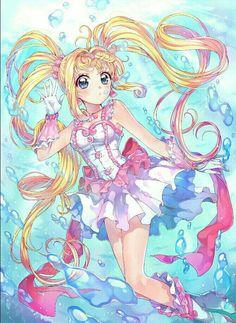 Princess Lucia from Pichi Pichi Pitch Manga Love, Manga Girl, Anime Manga, Anime Art, Mermaid Melody, Mermaid Princess, Otaku, Kawaii Anime, Anime Amino
