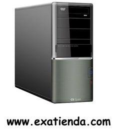 """Ya disponible Caja semitorre l8067 c34      (por sólo 37.95 € IVA incluído):   -Formato:Semi Torre ATX -Bahias externas: 3x 5.25"""" 1x 3.5"""" -Bahias internas: 6x 3.5"""" -Conectores frontal: 1xpuerto USB 2.0, 1x salida de audiomicrófono -Ventilador adicional: 1x Ventilador extra 8 cm interior trasero y espacio para un ventilador lateral y otro frontal. -Fuente:550W ATX -Conector S.ATA en fuente: ---- -Medidas (alto x ancho x fondo):410mm x 180mm x 410mm -Display:NO -Color:N"""
