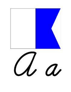 This is a 26 page Nautical themed cursive alphabet to print and hang in your room.  Each letter includes the Nautical Flag for that letter as well ...